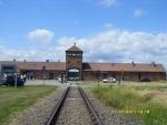 Польша. Освенцим - 2. Центральные ворота.