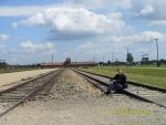 Польша. Освенцим - 2. Площадка, на которую прибывали заключённые