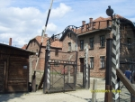 Польша. Освенцим - 1. ''Arbeit macht frei''