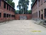 Польша. Освенцим - 1. Место расстрела заключенных.