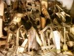 Польша. Освенцим - 1. Музей доказательств преступлений. Изъятые у арестантов вещи. Разумеется, далеко не все за историю лагеря