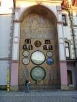 Чехия. Оломоуц. Ратуша с астрономическими часами