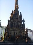 Чехия. Оломоуц. Чумная колонна. Их воздвигали в городах по случаю окончания чумы. Эта является одной из самых крупных - 35 метров в высоту, и занесена в список Всемирного наследия ЮНЕСКО