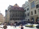 Чехия. Прага. На центральной площади