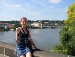 Чехия. Прага. На Карловом мосту