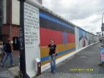 Германия. Берлин. Толщина Берлинской стены