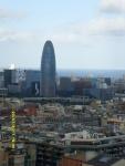 Испания. Барселона. Саграда де Фамилия. Вид с башни на город