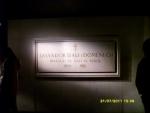 Испания. Фигуэрес. Театр-музей Дали. В подвале театра и сама могила Дали. Он пожелал быть тут захороненным