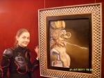 Испания. Фигуэрос. Театр-Музей Дали. Портрет Пикассо