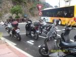 Монако. Полицейские мотоциклы и скутеры