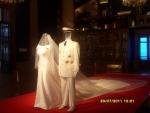 Монако. Музей Кусто. Там на первом этаже экспозиция, посвящённая недавней свадьбе князя Монако. Собственно, свадебные наряды