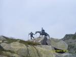 Швейцария. Альпы. Памятник переходу Суворова через Альпы