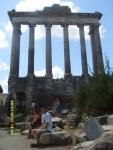 Италия. Рим. Руины Римского форума