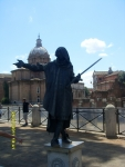 Италия. Рим. Живая статуя
