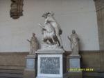 Италия. Флоренция. Скульптуры 16 века под открытым небом