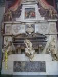 Италия. Флоренция. Могила Микеланджело