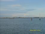 Италия. Вид из кемпинга на Венецию