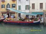 Италия. Венеция. плавучий рынок