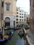 Италия. Венеция. Пробка из гандол