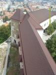 Словения. Вид на столицу Словении - Любляны - из словенского замка