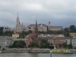 Венгрия. Будапешт. Вид на Будай