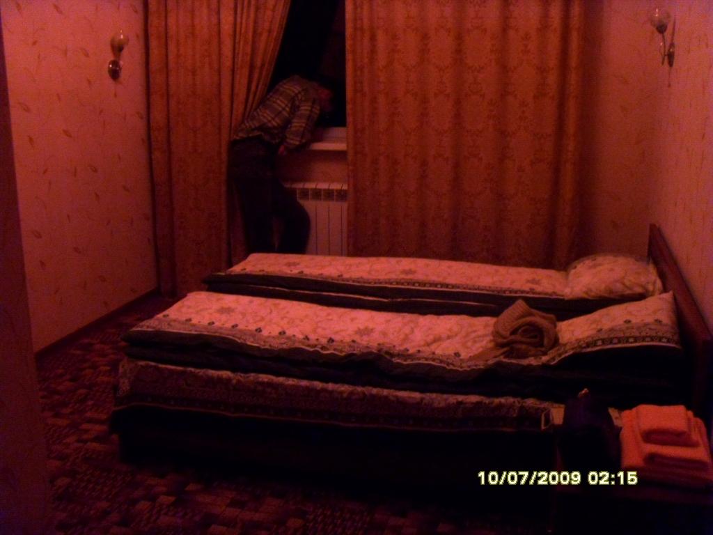 В гостях в гостинице на Эльбрусе