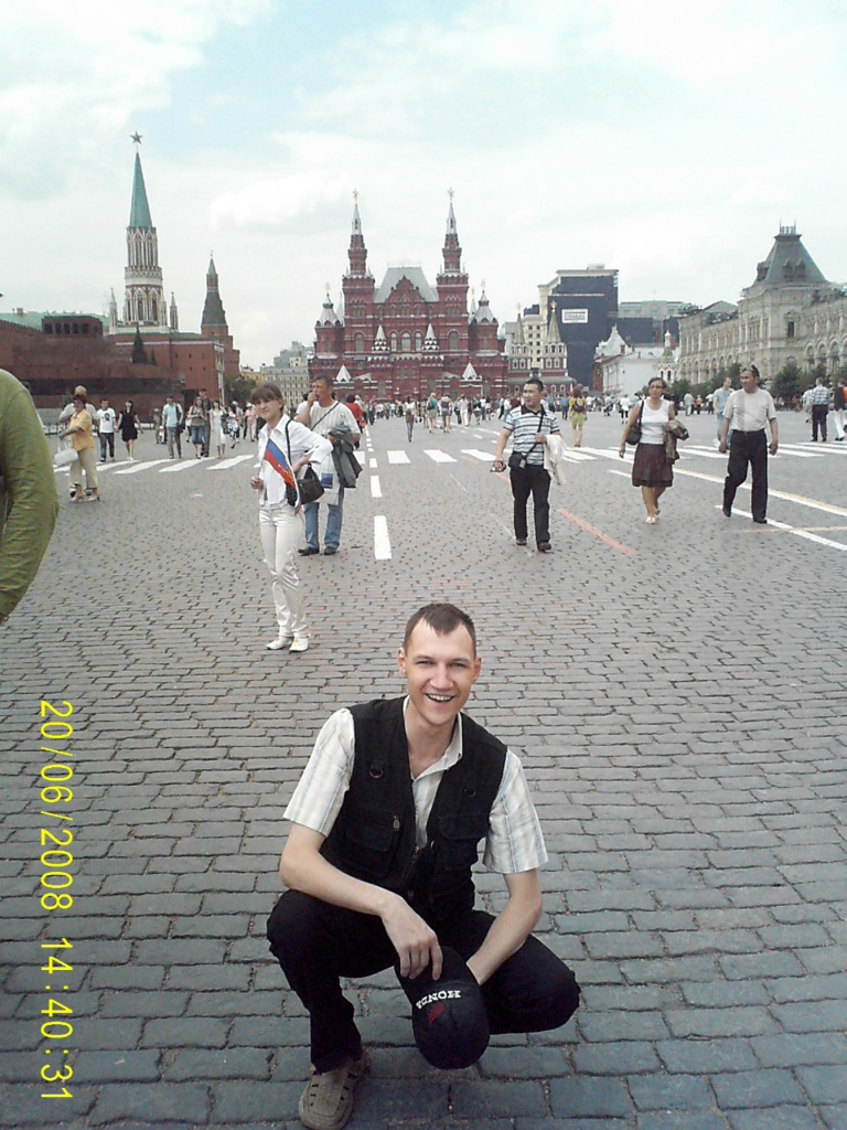 ZserG на красной площади