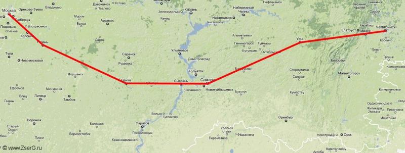 Москва 2008 карта
