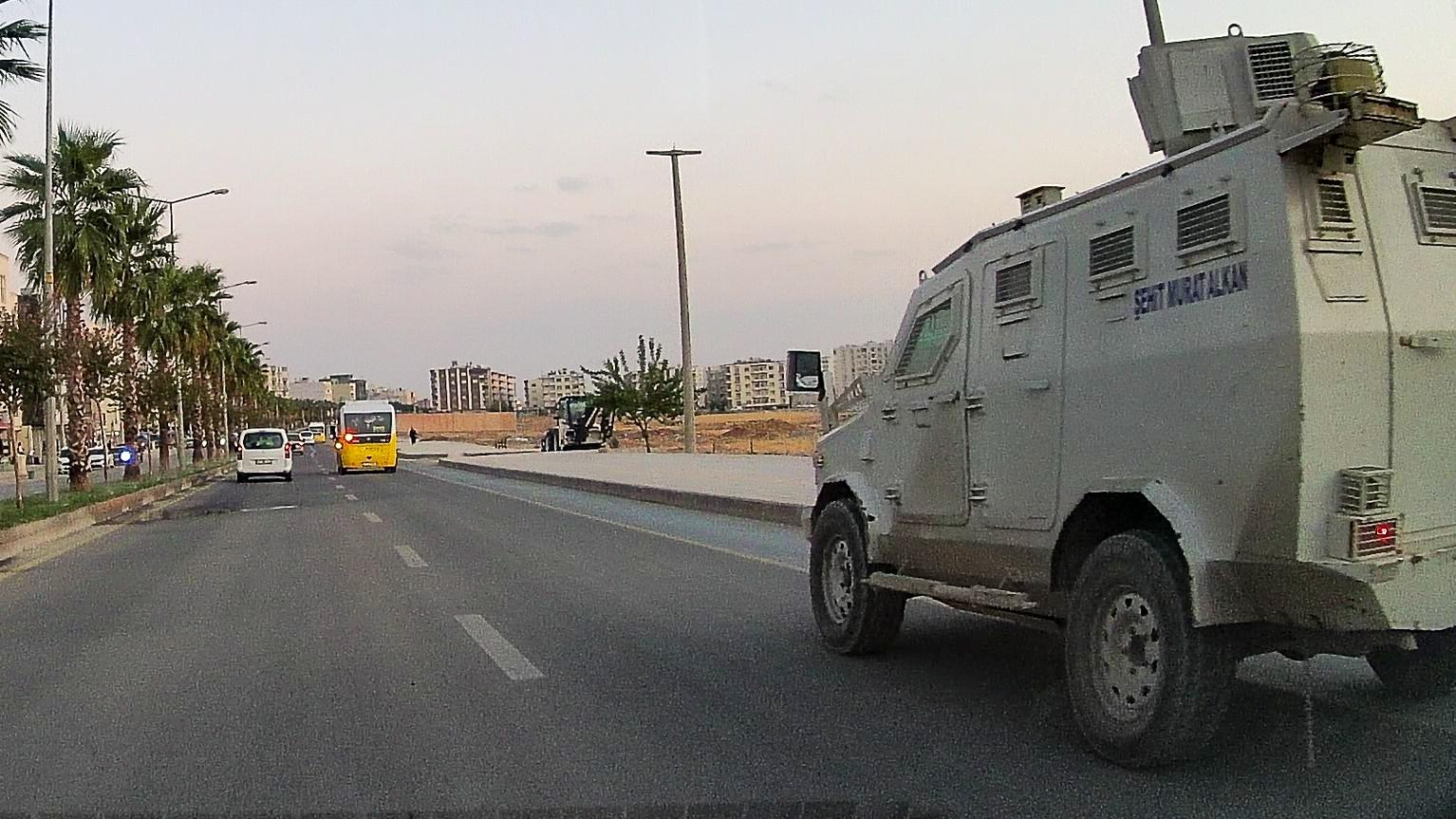 Нусайбин. В городе по сути военное положение