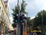 Вильнюс. Светофор для велосипедистов