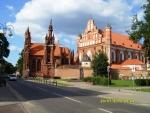 Вильнюс. Костел святой Анны и костел Бернардинцев