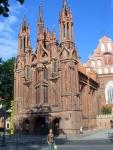 Вильнюс. Костел святой Анны