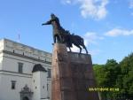 Вильнюс. Литовский князь Гедемин