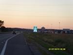 Литва. Автомагистраль.