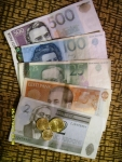 Таллинн. Эстонские деньги