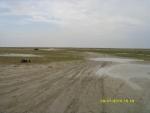 Суровый казахстанский пляж