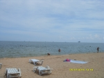 Вот оно море. В нем не так жарко.
