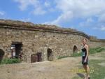 Судак. Генуэзская крепость. Оборонительная стена