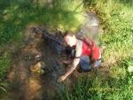 Холодненькая вода из речки