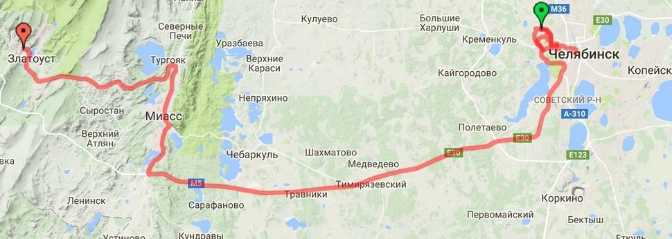 21-07-2016 Челябинск - Златоуст