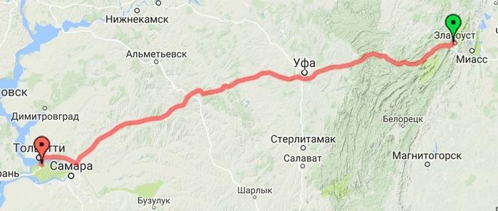 22-07-2016 Златоуст - Тольятти