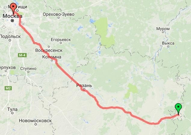 24-07-2016 Подмосковье - Москва