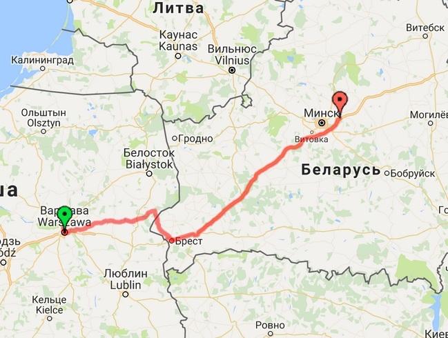 Польша - Беларусь
