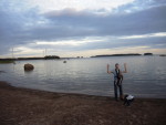В кемпинге. Балтийское море
