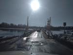 Понтонный мост через р. Дон  г.Богучар. с.Галиевка