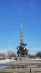 Луганск. 40 лет победы