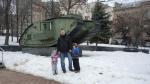Луганск. Британский Танк.