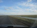 Мини озерца вдоль дорог