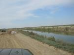 На пути к Кок-Аральской плотине