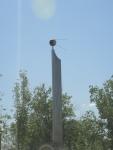 Памятник первопроходцам Байконура